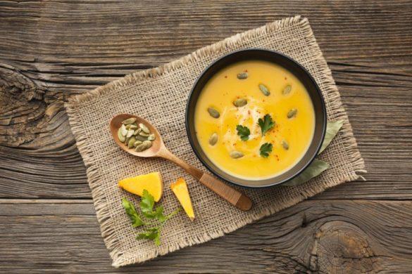 zupa krem z dyni - paleo